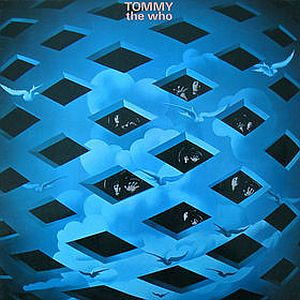 Tommy Album Cover by The Who