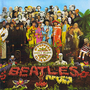1 The Beatles - Sgt Pepper's Lonely Heart Club Band