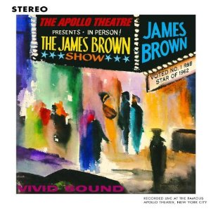 25 James Brown - Live At The Apollo