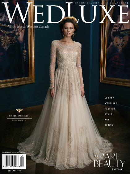 Wedluxe Magazine Winter/Spring 2015