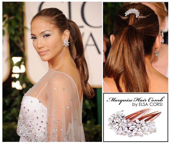 Jennifer Lopez Inspired Hair, see more designs www.elsacorsi.com