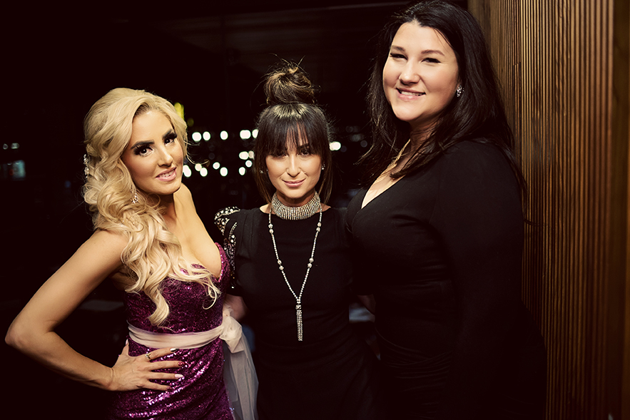 Glam Squad, Jasmine Hoffman, Courtney Brands, Hong PHotography, Joey Restaurants VAncouver