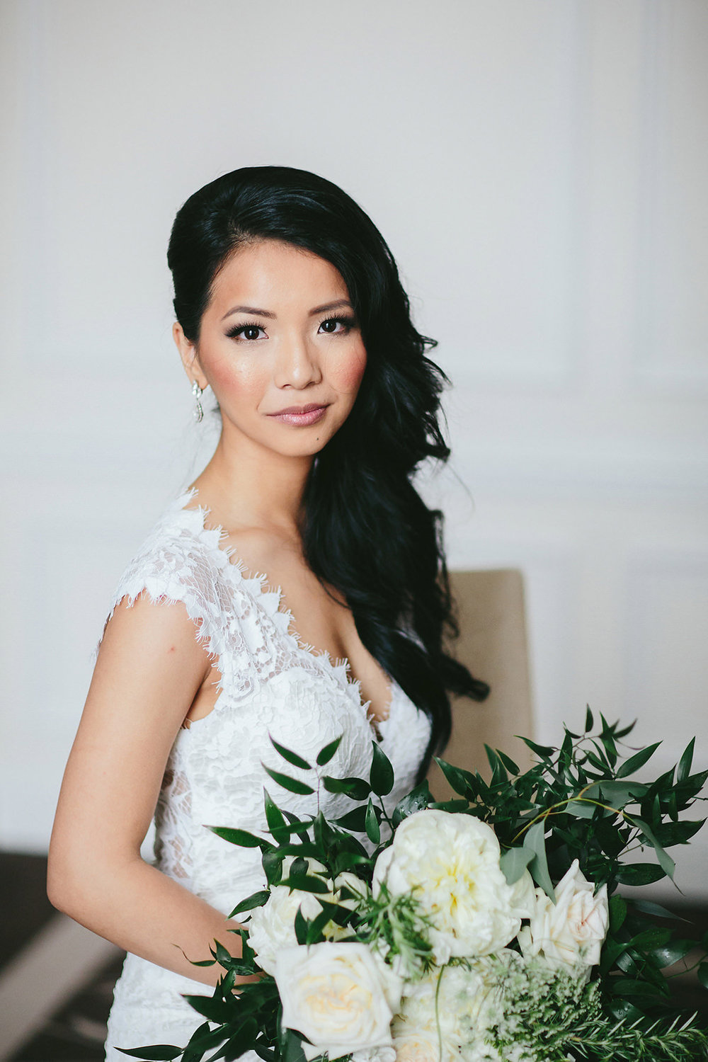 Vancouver Bride Featuring Jewelry by Elsa Corsi