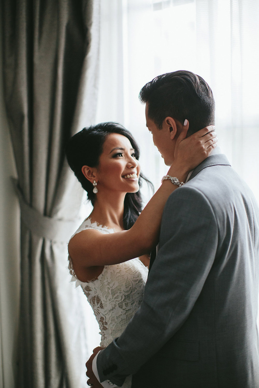 Vancouver Wedding featuring Jewelry by Elsa Corsi