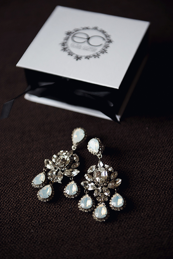 Chandelier Wedding Earrings bu Elsa Corsi
