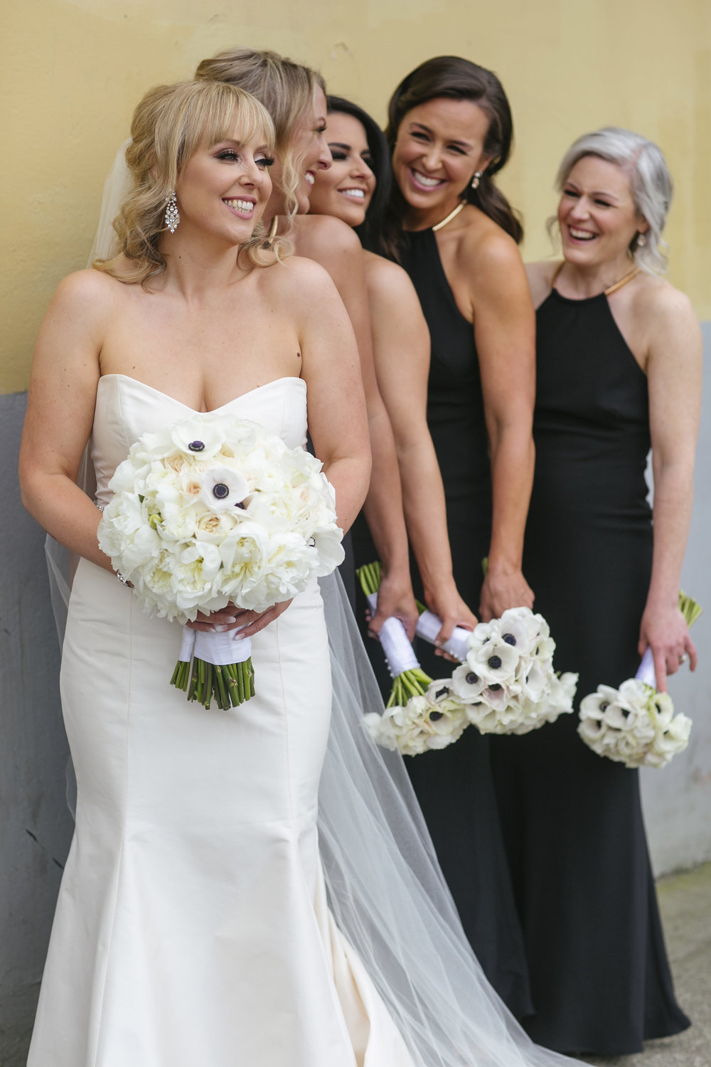 Bridal Party, Lori Miles, Vancouver Wedding
