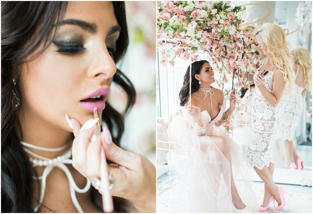 Cherry Blossom Inspired Makeup Vancouver, Jasmine Hoffman, Denise Lin, Elsa Corsi