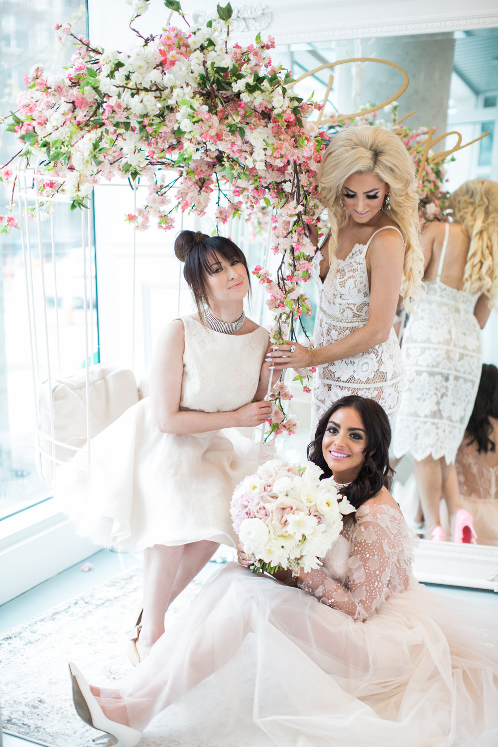 Cherry Blossom Inspired Photo Shoot Vancouver, Denise Lin, Elsa Corsi