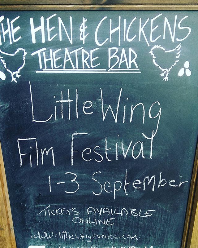 Today! Little Wing Film Festival shows Akela. Delighted to be part of this charming festival at this lovely venue.  #independent #film #festival #comedy #female #scouts #lincolnshire #lowbudget #funny