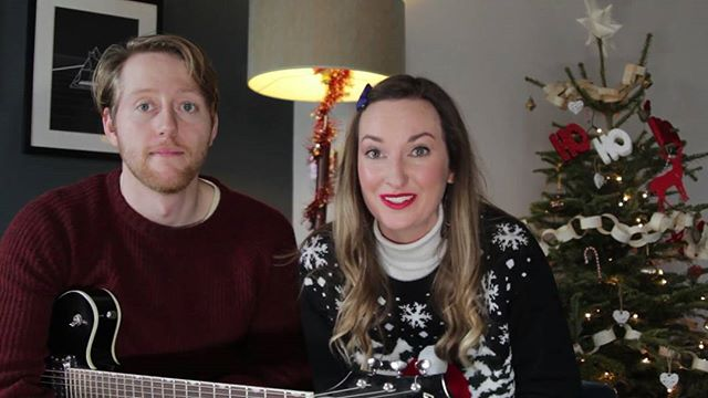 Our lovely @lornashawcomedy has teamed up with @matthewgundel to make a great little Christmas sketch. See the link in the bio to watch!  #christmas #comedy #feminism #babyitscoldoutside #christmasjumper #funny #sketch