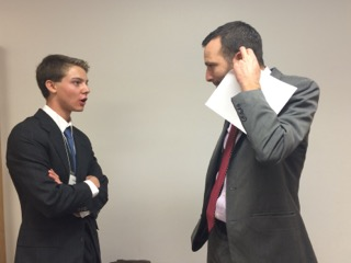 Brendanwith Ben Allen, CA State Senator.Bren won a state competition for his essay on climate change and was flown to Sacramento
