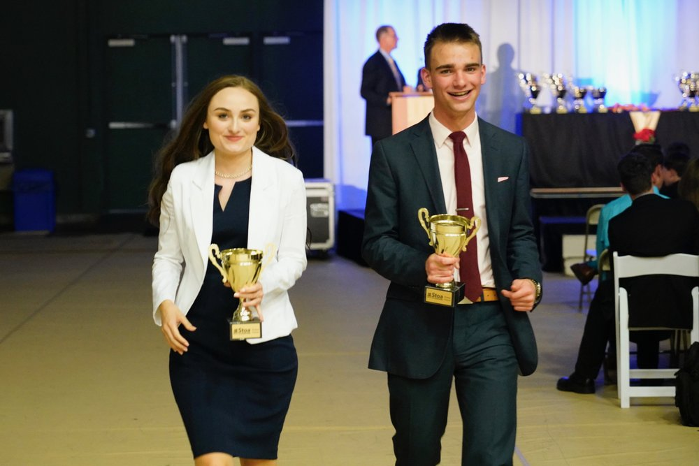 Drew and Leah were the only competitors at NITOC 2018 to receive multiple picket fences.