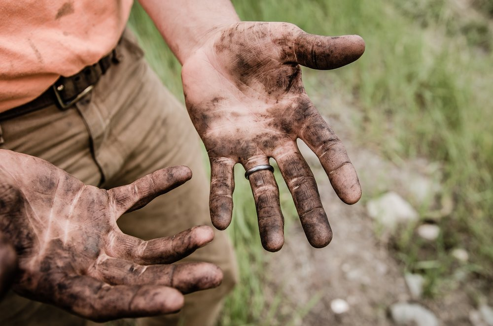 Sometimes you have to get your hands dirty...               Image: Jesse Orrico / Unsplash