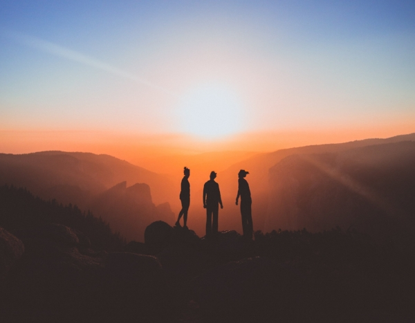 With whom will you stand on the mountain top?                 Image: Karl Magnuson / Unsplash