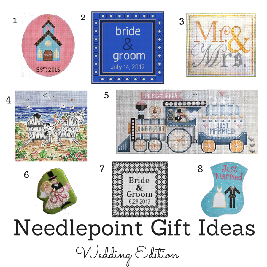 Needlepoint Wedding Gift Ideas