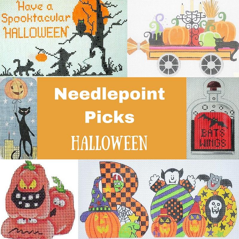 Halloween Needlepoint