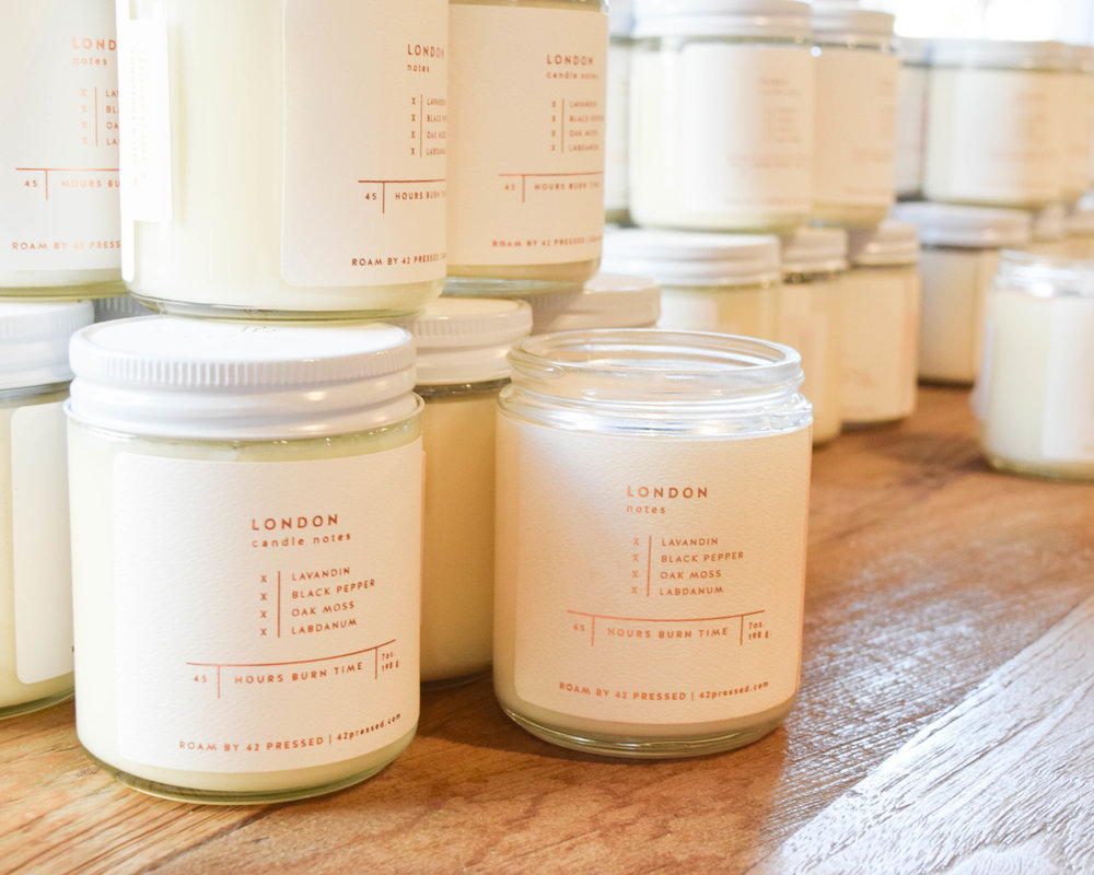 The store is filled with lots of delicious smelling candles from Candlefish's sister companies