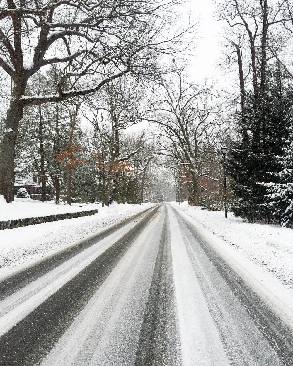Yesterday's winter wonderland in Boston