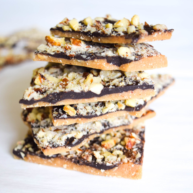 Hazelnut Chocolate Toffee