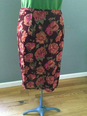 ad33b62c84d retro vibrant floral midi skirt  24