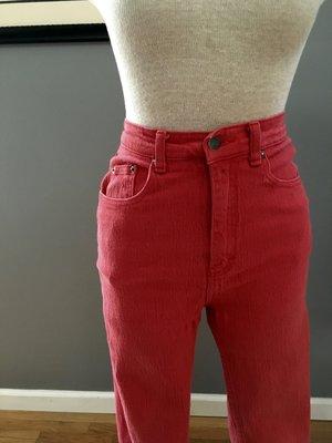 25196f595ef vintage high waisted red skinny jeans  42