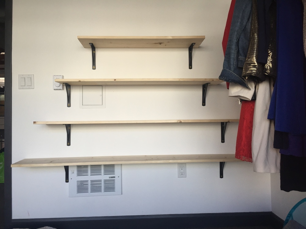Pyramid Shelves, 2015