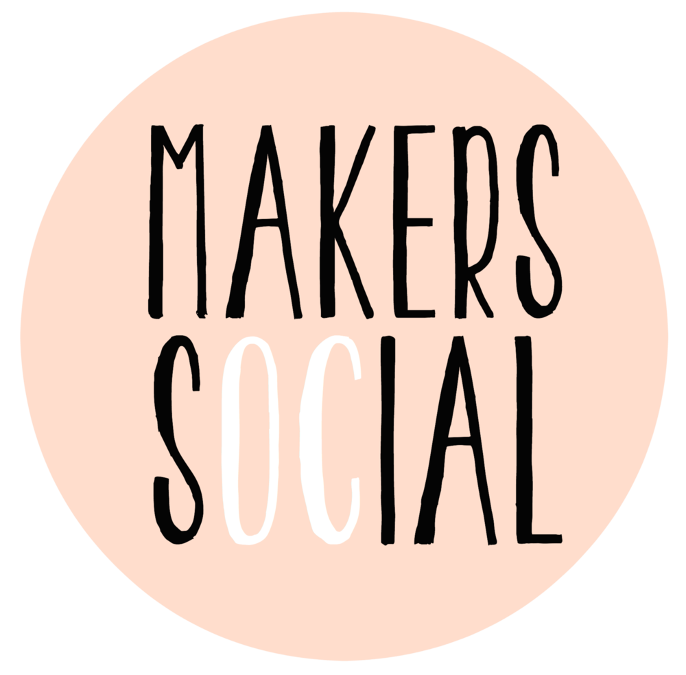 I organize a monthly mastermind group called Makers Social for an amazing group of creatives in my small beach town, Ocean City, NJ. We focus on community projects and share resources. If you are local or visiting, check out the site for details! We would love to have you!