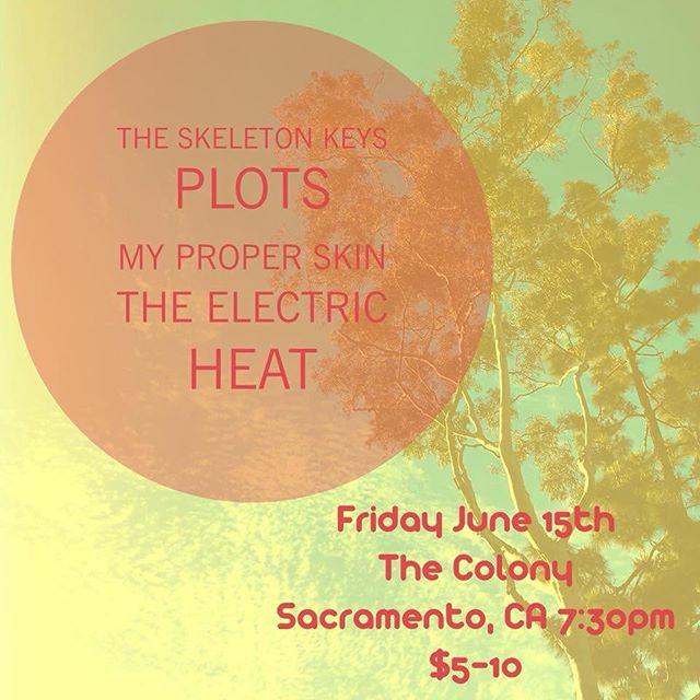 Sacramento tonight!