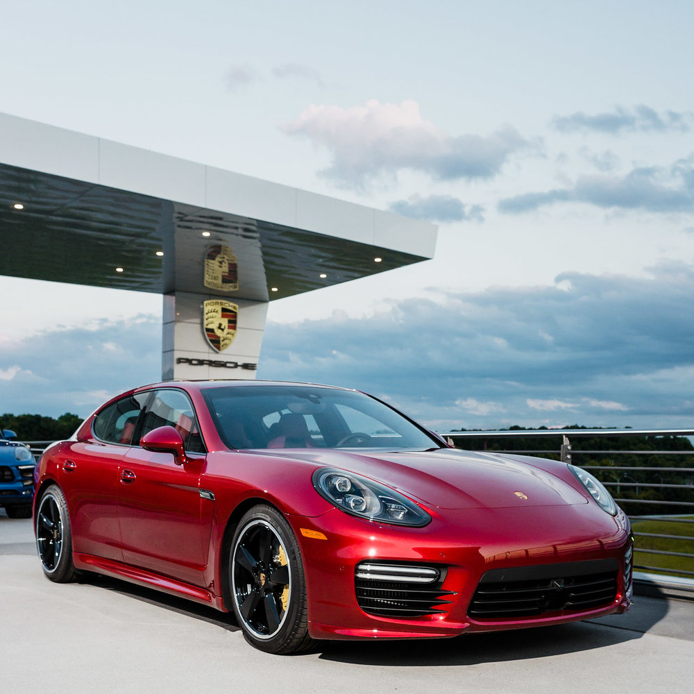 atlanta commercial photographer porsche
