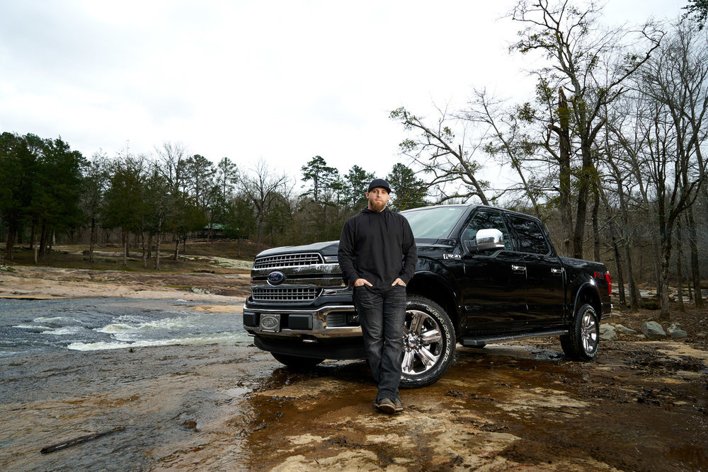 atlanta celebrity photographer ford trucks brantley gilbert