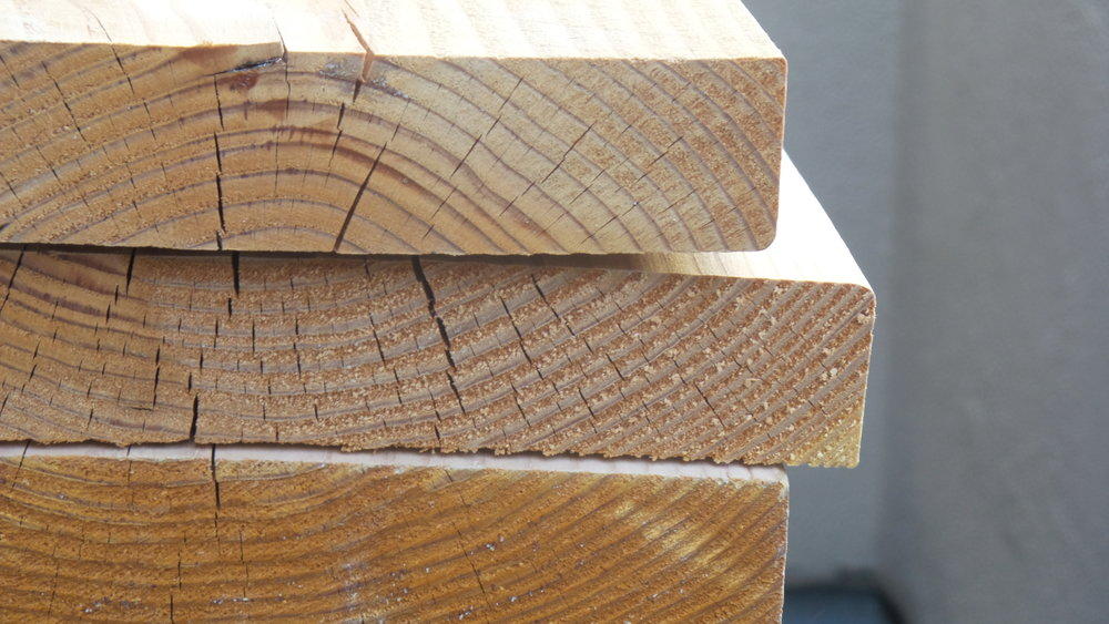 My beautiful planks of wood.