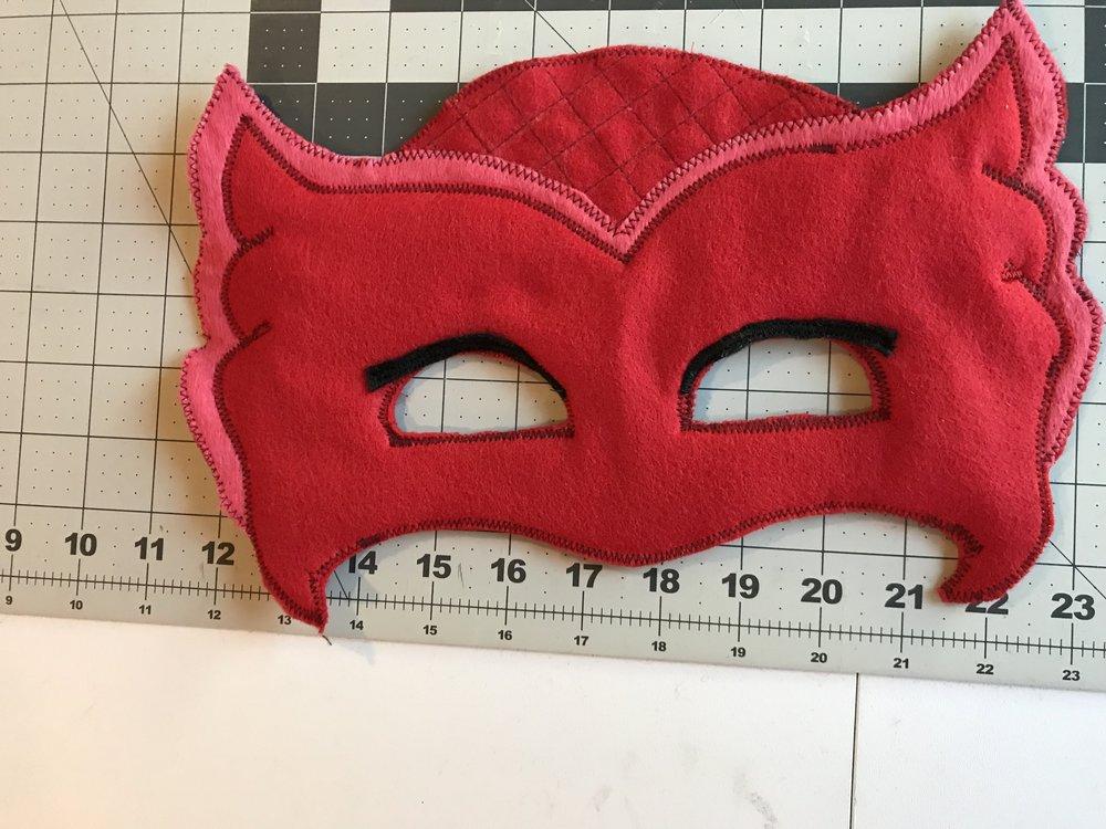 attach elastic and sew around
