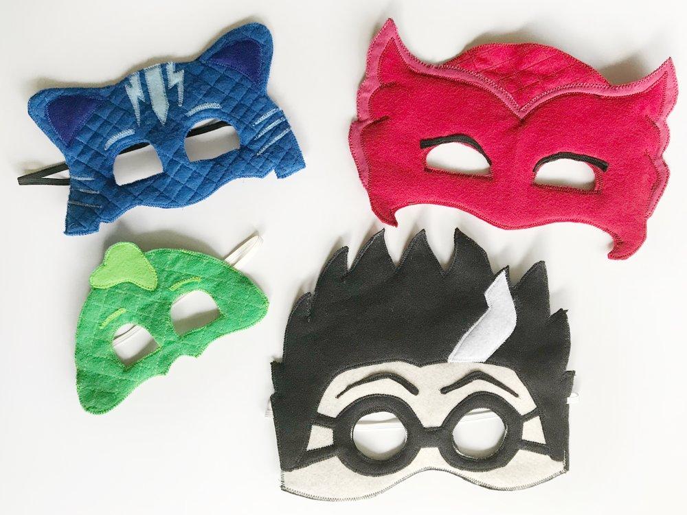 pj mask free mask template meghan makes do