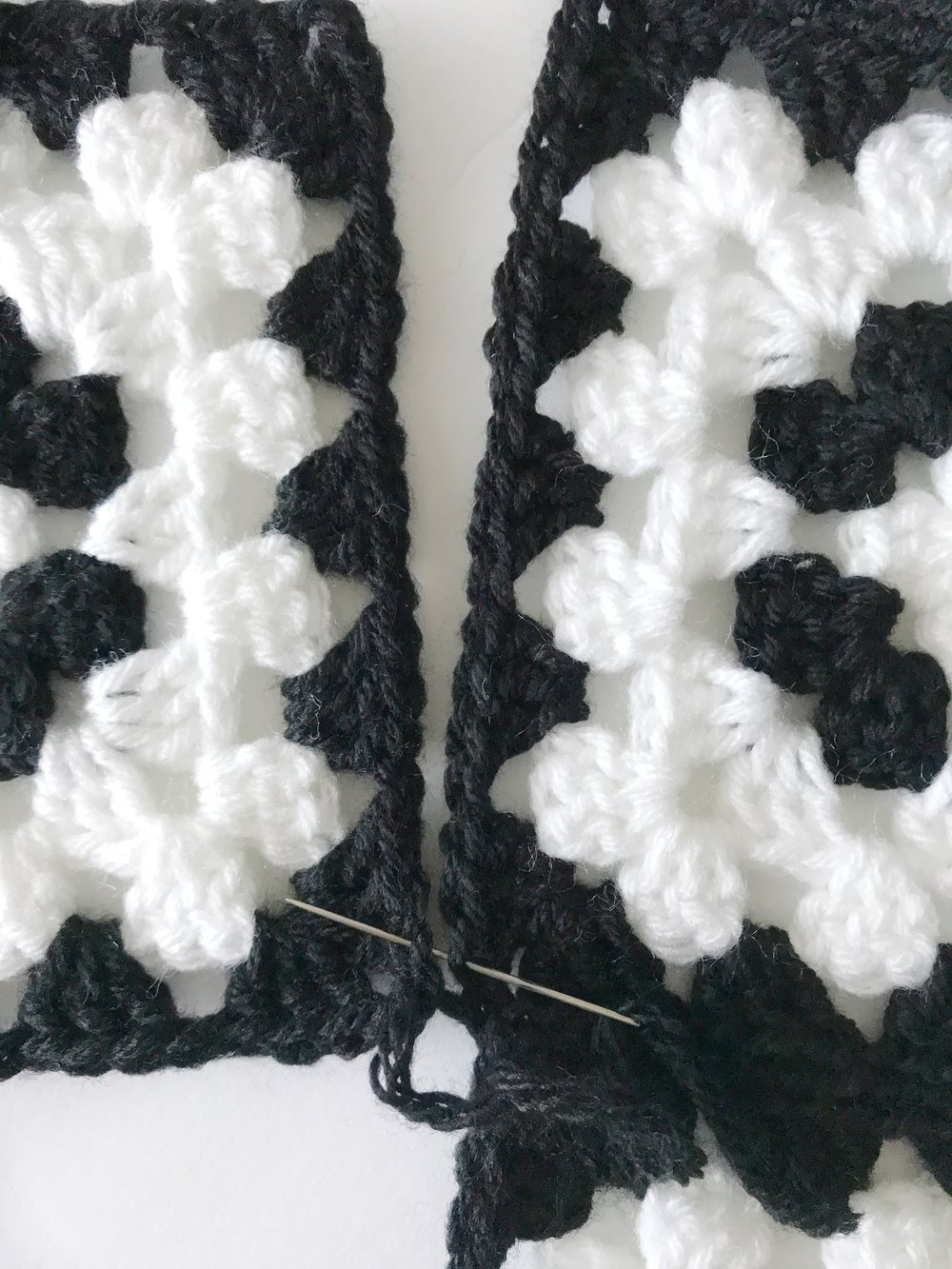 The Mabel Blanket Free Crochet Pattern Meghan Makes Do Round Ripple Afghan With Diagram My Husband Was Kind Enough To Help Me Create A Simple Of How Squares And Half Should Be Attached