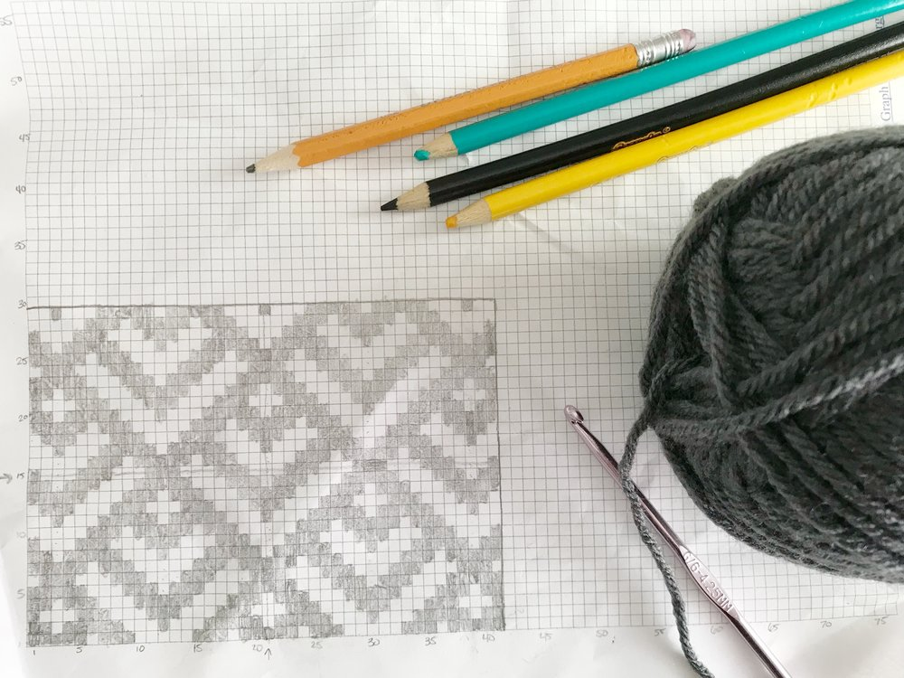 How To Design Your Own Tapestry Crochet Meghan Makes Do