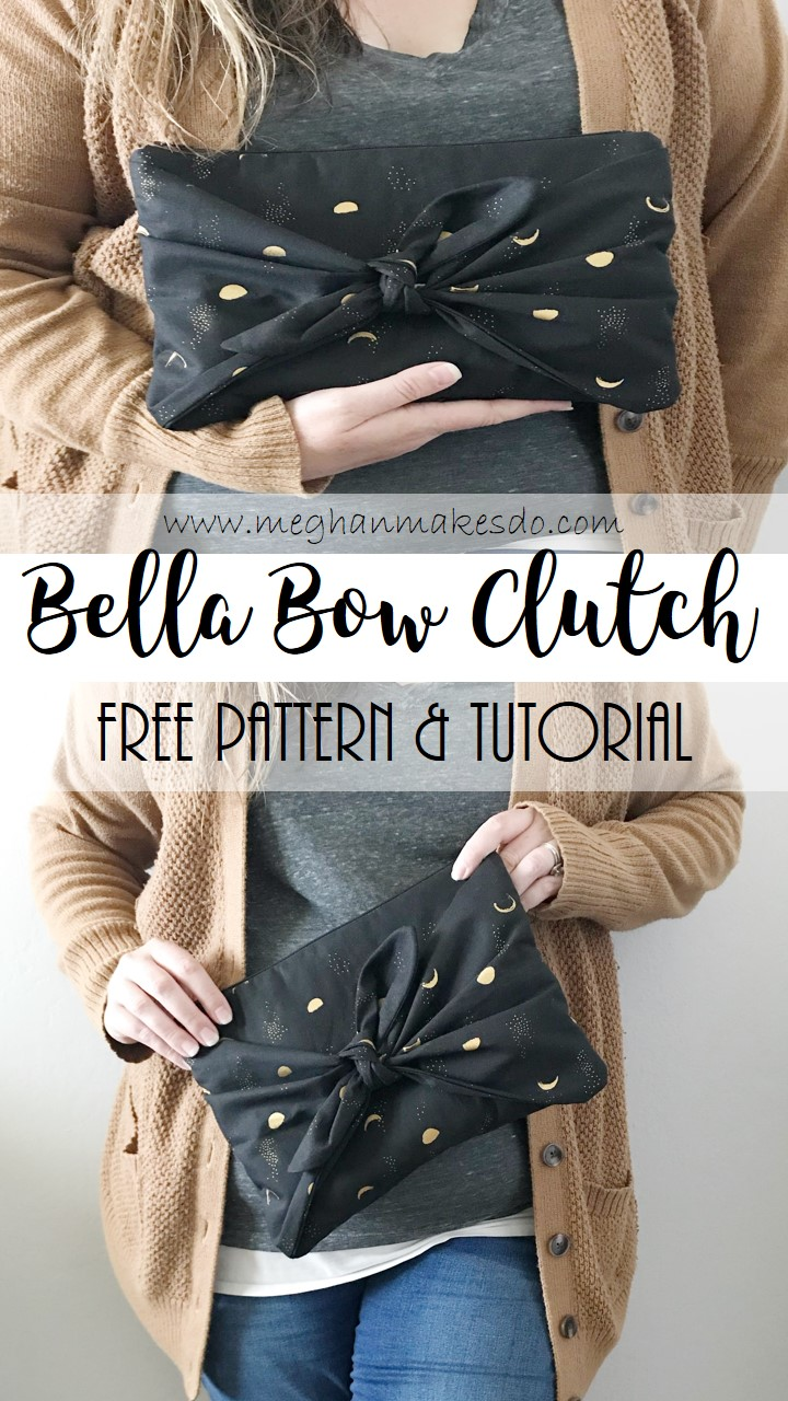 bella bow clutch