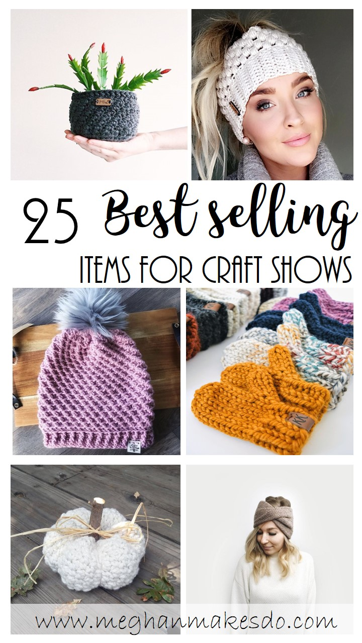 25 items to sell at a craft show