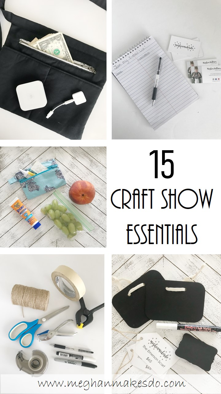 15 craft show essentials