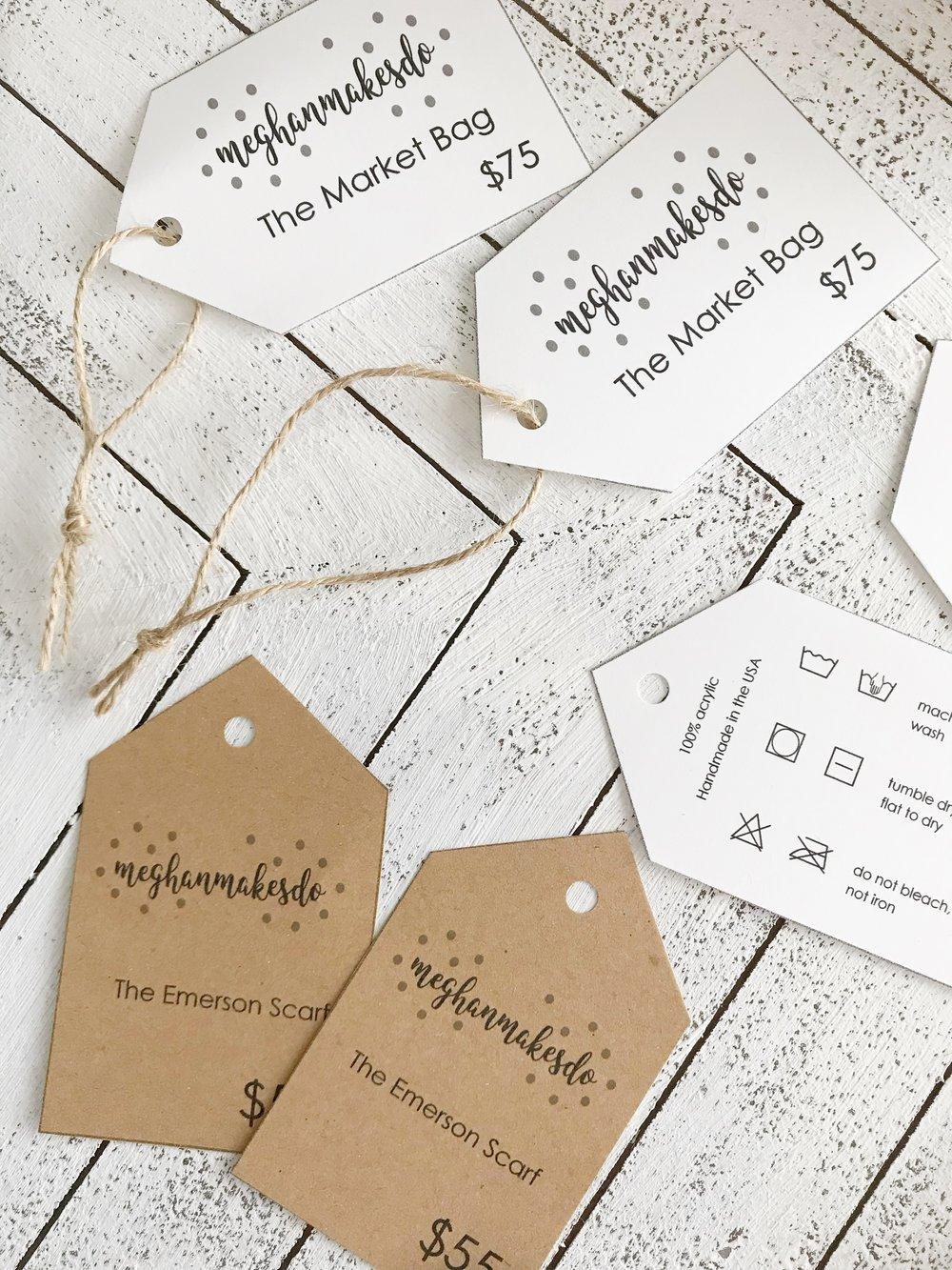free printable care tags