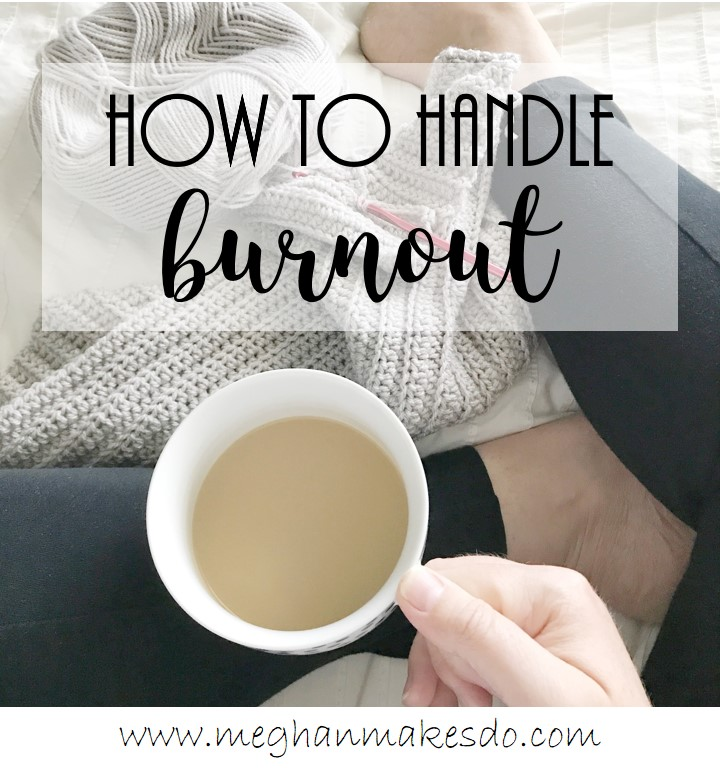 how to handle burnout