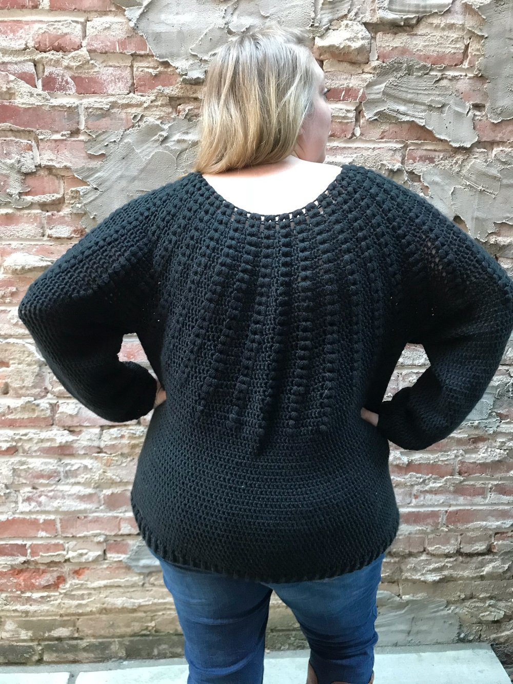 the goldenrod sweater
