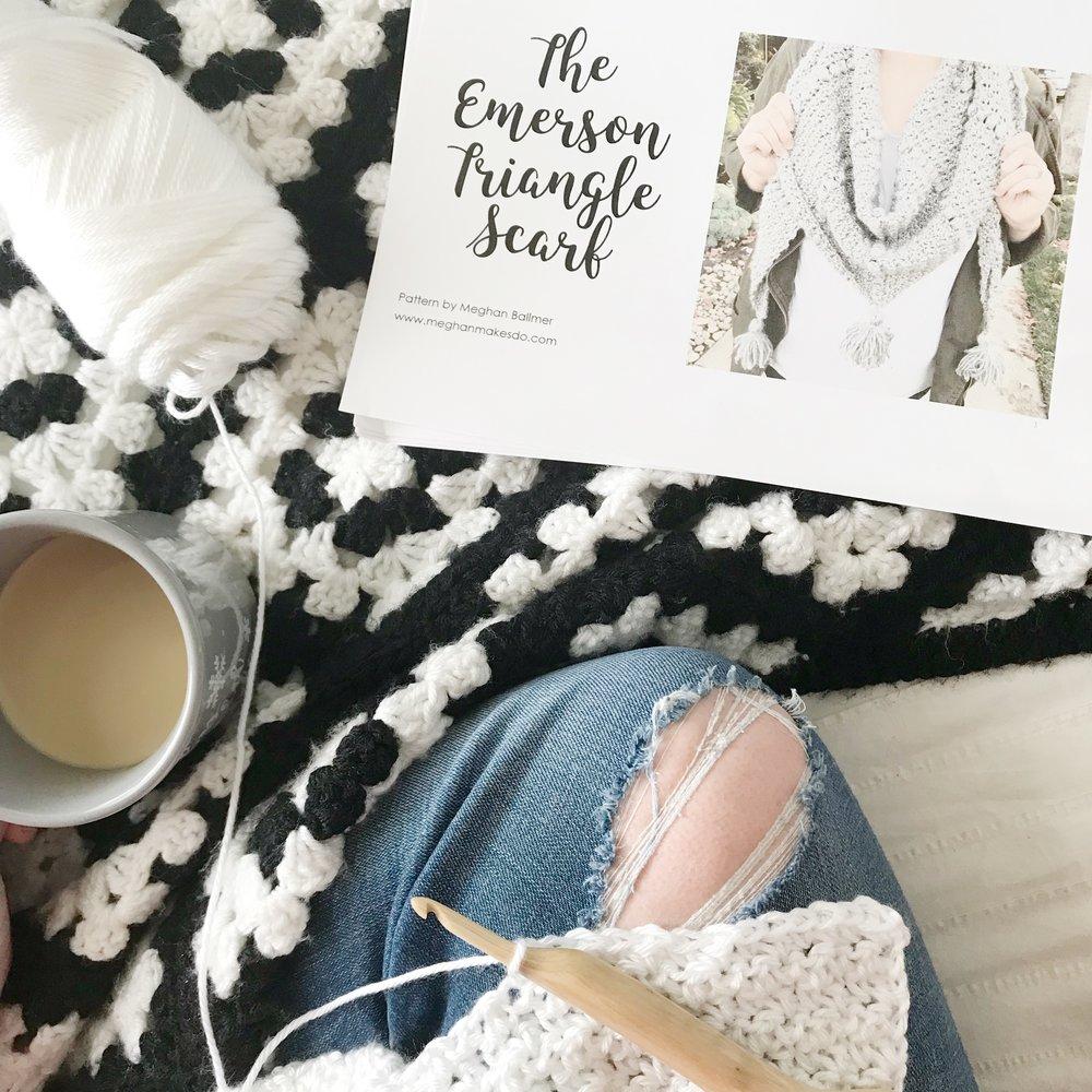 steps to writing a crochet pattern