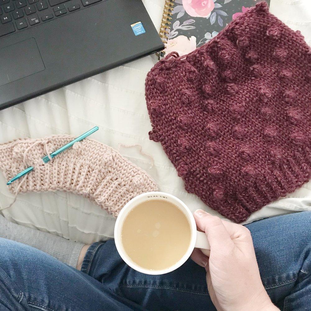 crochet bobble hat pattern