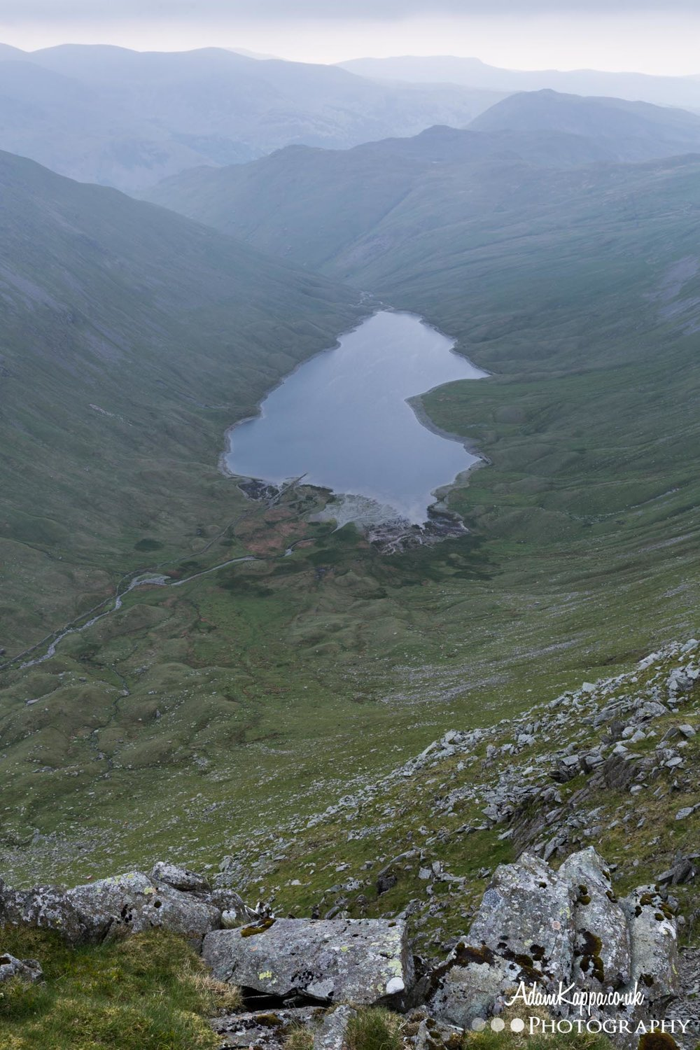 Hayeswater from High street, The Lake District