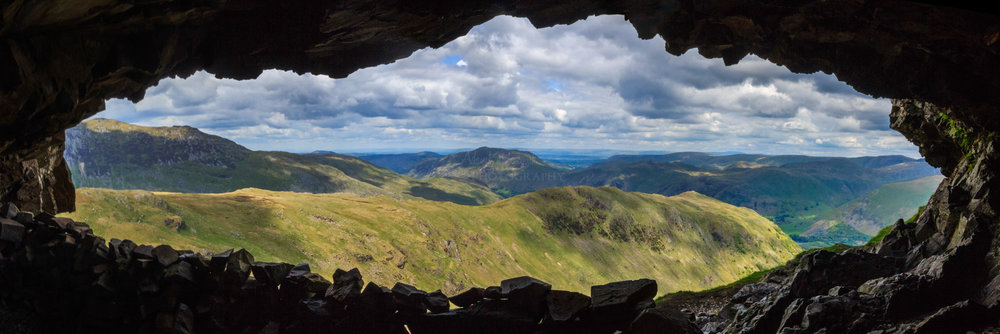 The Priest hole, Dove Crag. The Lake District