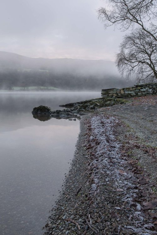 Frosty Morning On Coniston Water