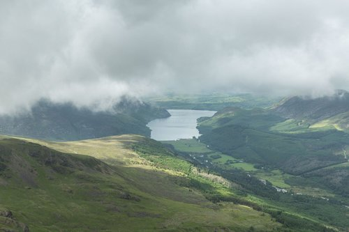 Ennerdale From Pillar. The Lake District