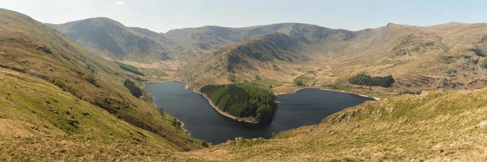 Hayeswater From The Corpse Road. The Lake District