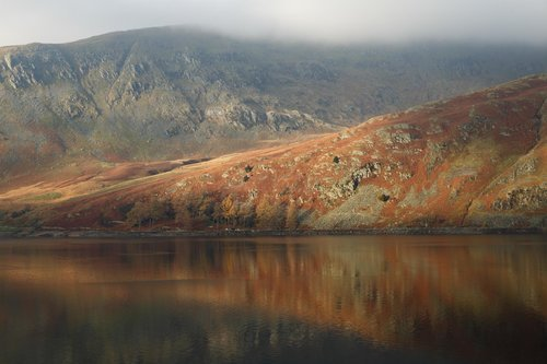 Reflections On Haweswater. The Lake District