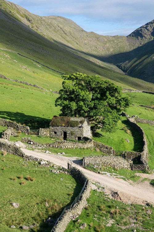 Shelter In The Valley. Hartsop. The Lake District